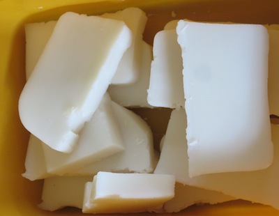 home made natural soap