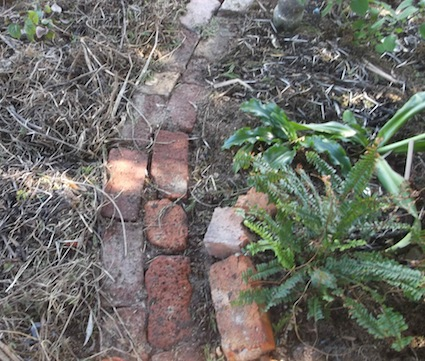 I Will Explain Below How To Lay Out The Simplest Garden Path, A Paths For  Dummies, A Canu0027t Go Wrong Sort Of Path. The Area Under The Large Acacia  Karoo Is ...