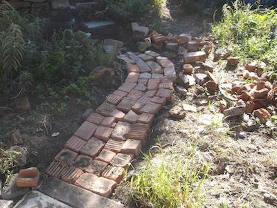 buiding garden paths