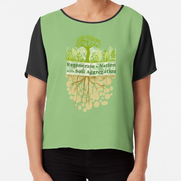 Soil Regeneration: T-shirts, clothing, accessories, stationery and art boards you can purchase from Redbubble.