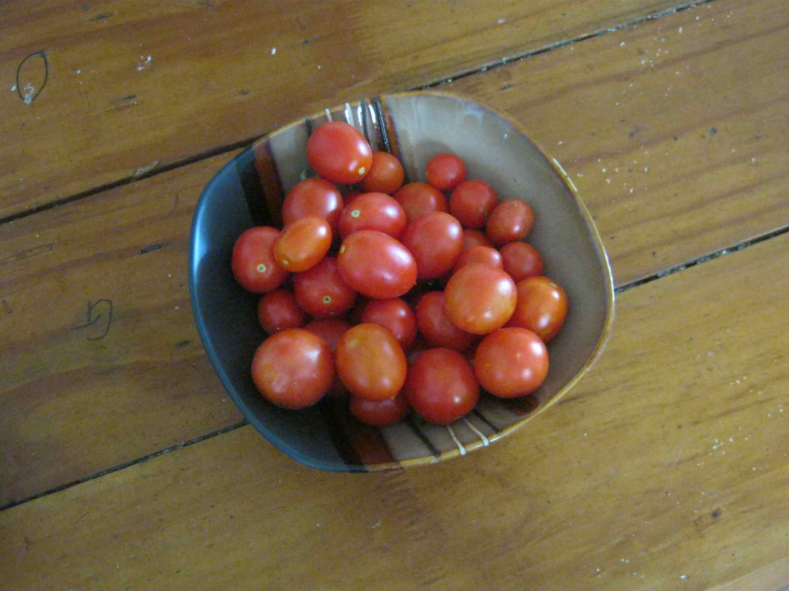 cherry tomatoes, one of the easiest vegetables to grow, guaranteeing easy vegetable gardening