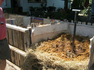 compost is the vegetable garden's foundation