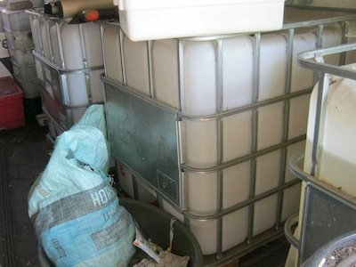cubic tanks for filter
