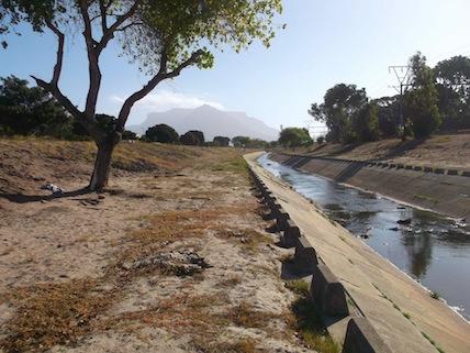 THe forlorn banks of the Elsieskraal river