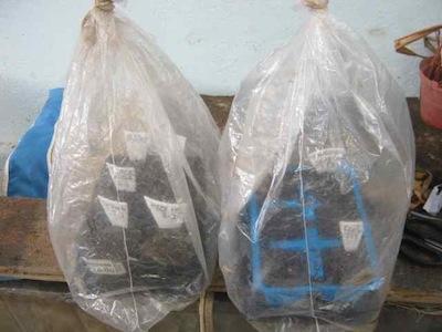 plastic keeps moisture stable